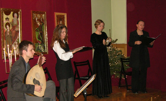 Concert in the museum